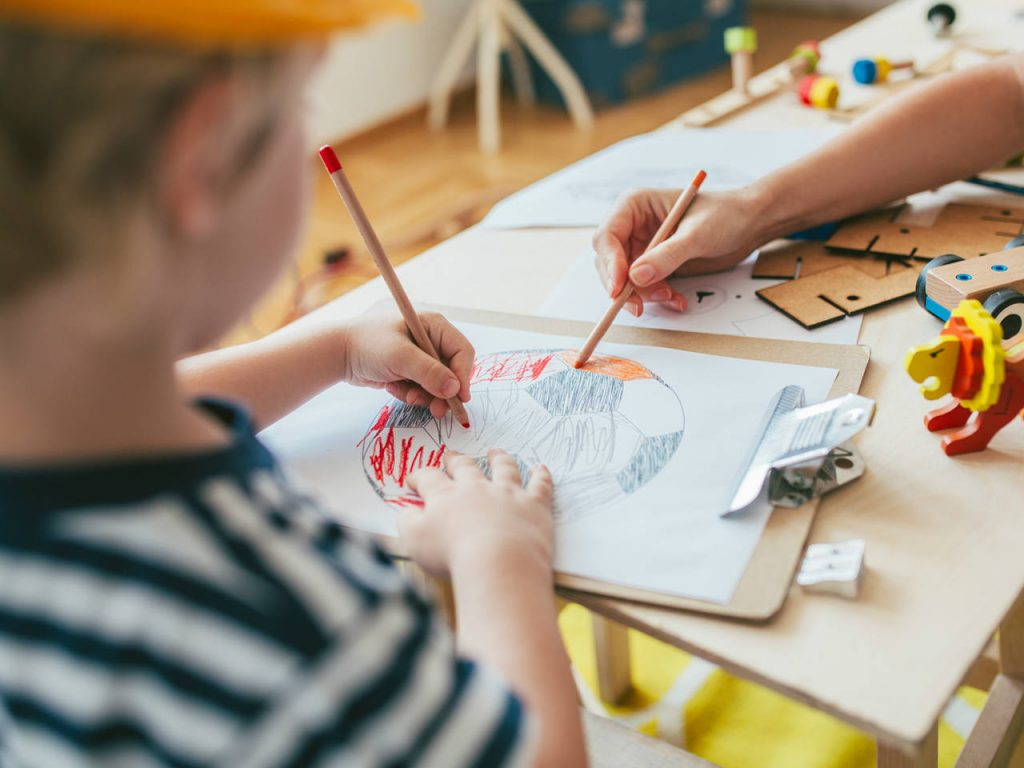 Best way to teach your kids to draw