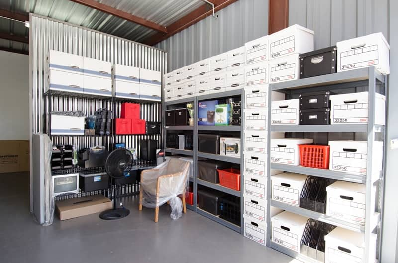 Equipment to see in storage space