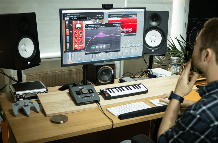Steps for setting up a recording room
